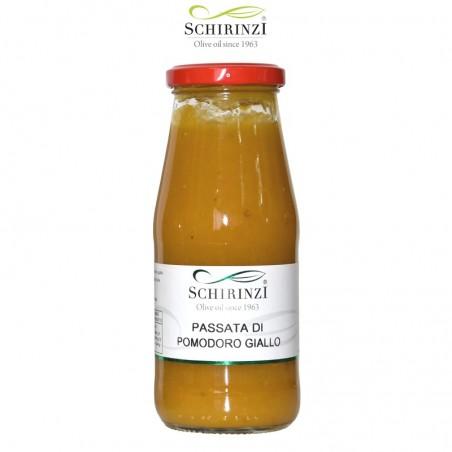 Tomato sauce yellow Salento bottle 420 gr.