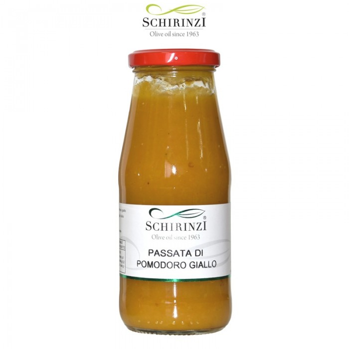 Tomatensauce gelb Salento flaschen von 420 gr.