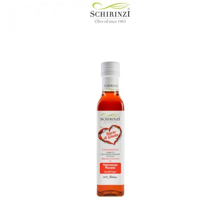 Bacio di Giuda - Olio al Peperoncino piccante 0,25 L