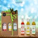 Gift box tris aromas 250 ml