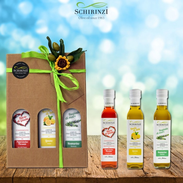 Geschenkbox Tris Aromen 250 ml