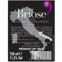 Primitivo IGT Salento wine bottle 0.75 L