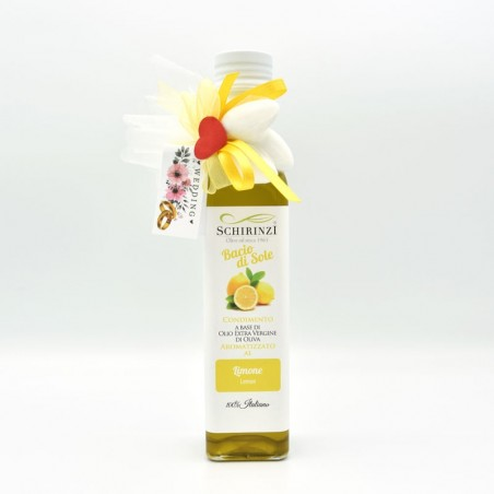 Lemon flavored oil favors for weddings
