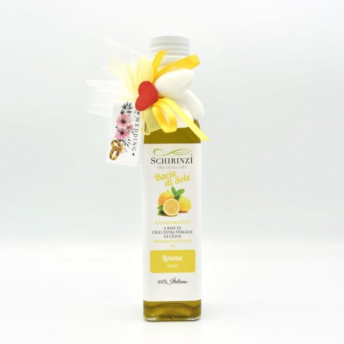 Bomboniera olio aromatizzato Limone per matrimoni e cerimonie