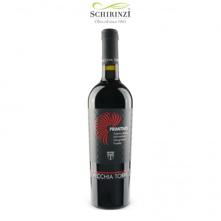 Primitivo IGP Salento wine bottle 0.75 L