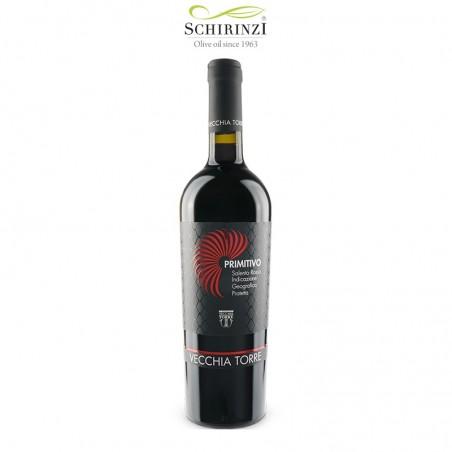 Primitivo IGP Salento wine bottle 0.75 L