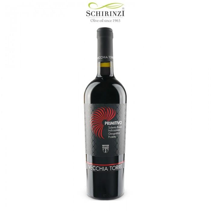 Vino Primitivo IGP Salento bottiglia 0,75 L