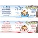 Meine Taufe - Gefälligkeiten oder Taufkarten mit nativem Olivenöl extra