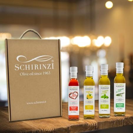 Geschenkbox Aromen in nativem Olivenöl extra