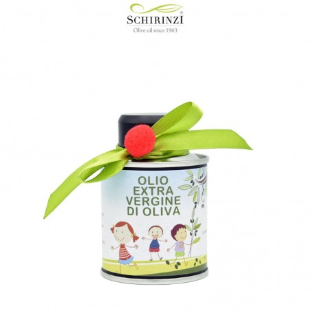 Extra virgin olive oil for children to give as gifts