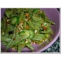 Pasta olivenblätter mit Spinat 500 gr